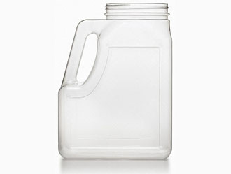 Jug Clear Plastic Spice Container
