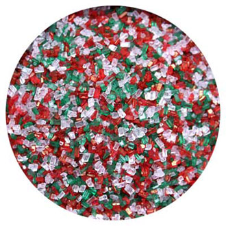 Christmas Mix Coarse Sugar