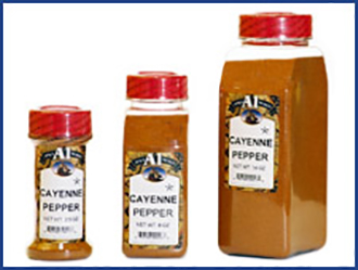 Cayenne Pepper Powder, High Heat (90,000 SHU)
