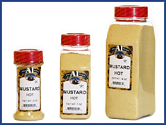 Hot Mustard Powder