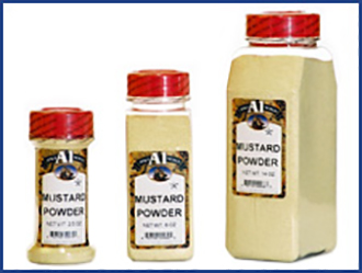 Ground Yellow Mustard